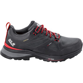 Jack Wolfskin Force Striker Texapore Chaussures Basses Homme, phantom/red